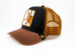 Goorin Bros Bad Ass (Eşek Figürlü) Kahverengi Şapka - Thumbnail