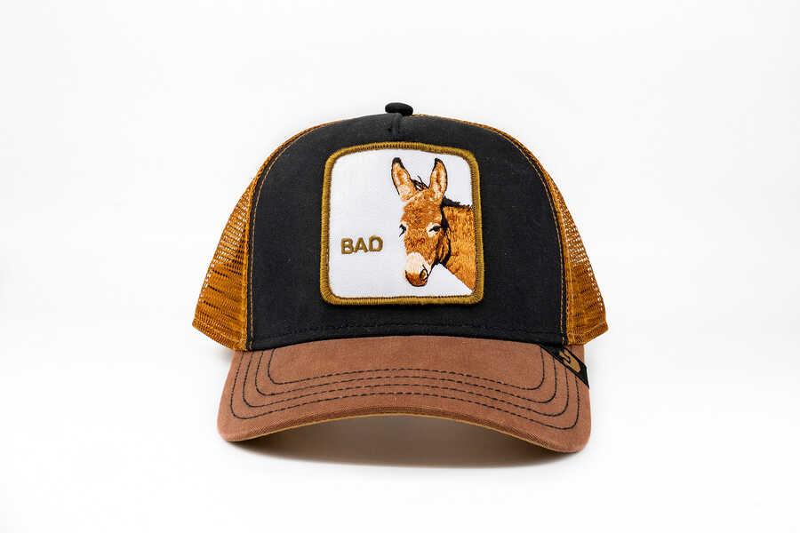 Goorin Bros - Goorin Bros Bad Ass (Eşek Figürlü) Kahverengi Şapka