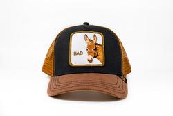 Goorin Bros - Goorin Bros Bad Ass (Eşek Figürlü) Kahverengi Şapka (Thumbnail - )