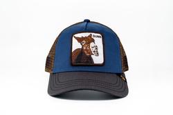 Goorin Bros - Goorin Bros Dumbass (Katır Figürlü) Mavi Şapka (Thumbnail - )