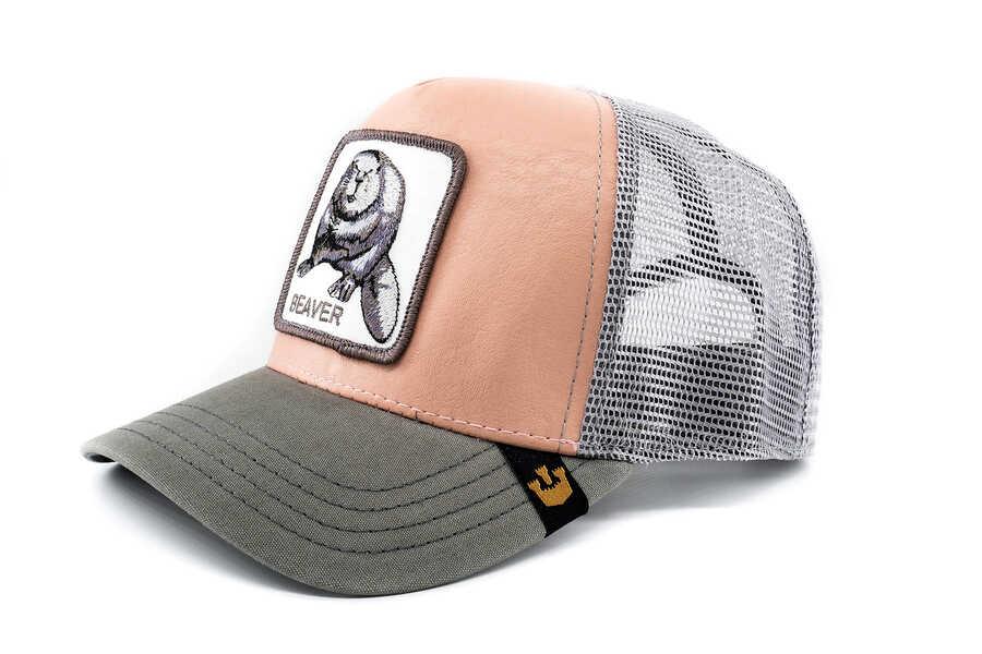 Goorin Bros - Goorin Bros Dam It Pembe (Kunduz Figürlü) Şapka (1)