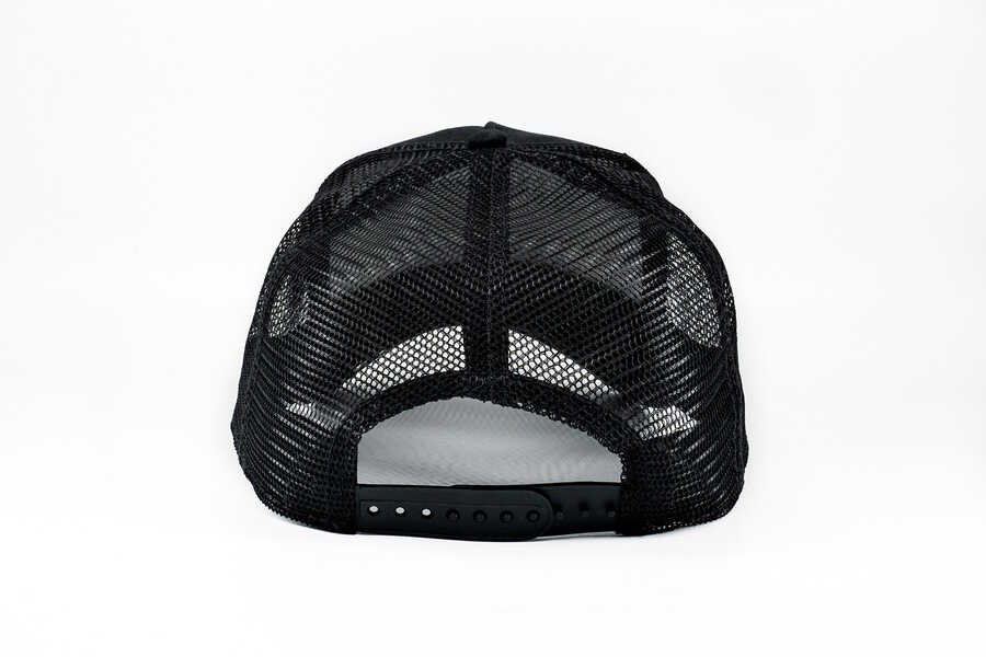 Goorin Bros Black Bear (Ayı Figürlü ) Siyah Şapka