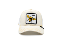 Goorin Bros - Goorin Bros Queen Bee (Arı Figürlü) Siyah Şapka (Thumbnail - )
