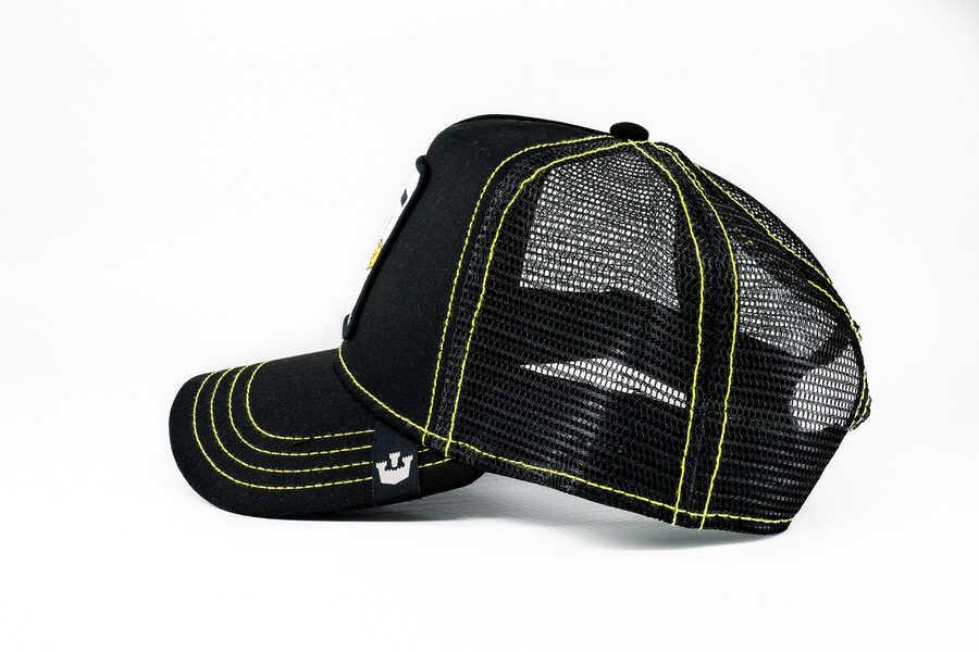 Goorin Bros Queen Bee (Arı Figürlü) Siyah Şapka