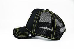 Goorin Bros Queen Bee (Arı Figürlü) Siyah Şapka - Thumbnail
