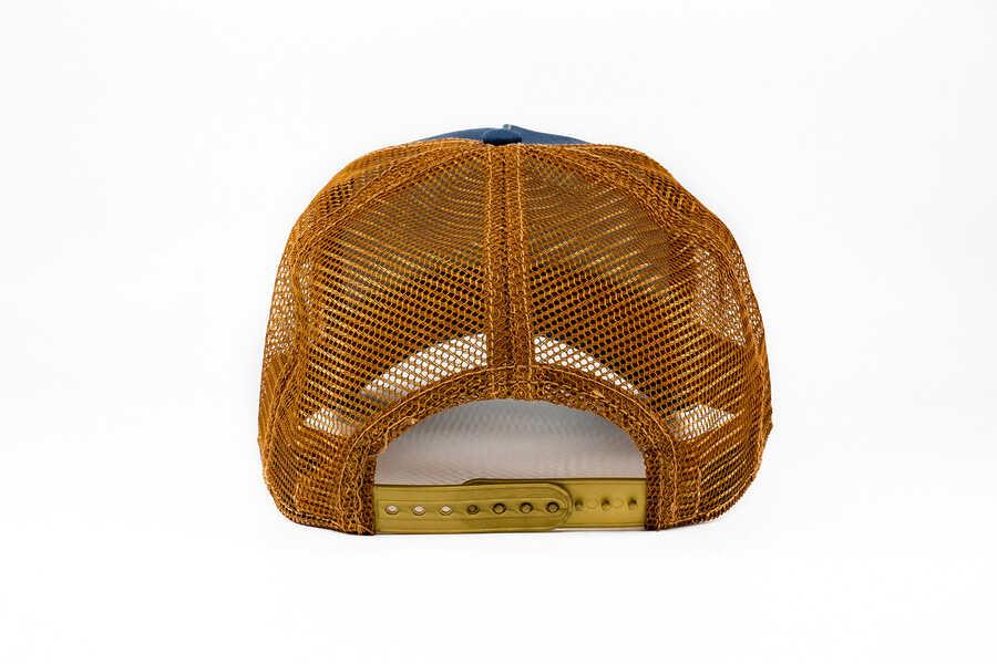 Goorin Bros Big Horn (Koç Figürlü) Lacivert Şapka