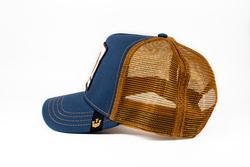 Goorin Bros Big Horn (Koç Figürlü) Lacivert Şapka - Thumbnail