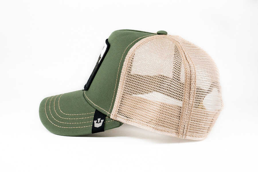 Goorin Bros Drew Bear (Ayı Figürlü) Yeşil Şapka