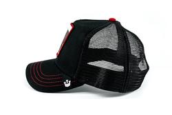 Goorin Bros Bull Honky (Boğa Figür) Siyah Şapka - Thumbnail