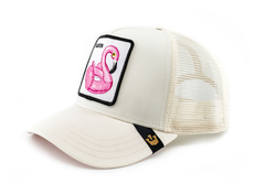 Goorin Bros Floater (Flamingo) Beyaz Şapka - Thumbnail
