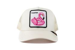 Goorin Bros - Goorin Bros Floater (Flamingo) Beyaz Şapka (Thumbnail - )