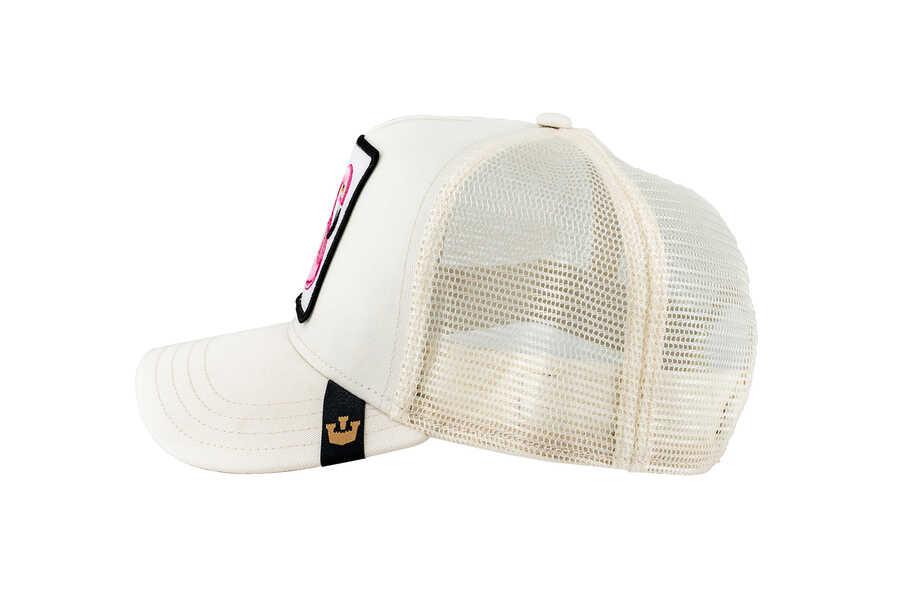 Goorin Bros Floater (Flamingo) Beyaz Şapka