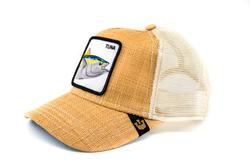 Goorin Bros Big Fish (Balık Figürlü) Bej Şapka - Thumbnail