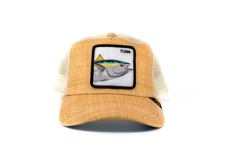 Goorin Bros - Goorin Bros Big Fish (Balık Figürlü) Bej Şapka