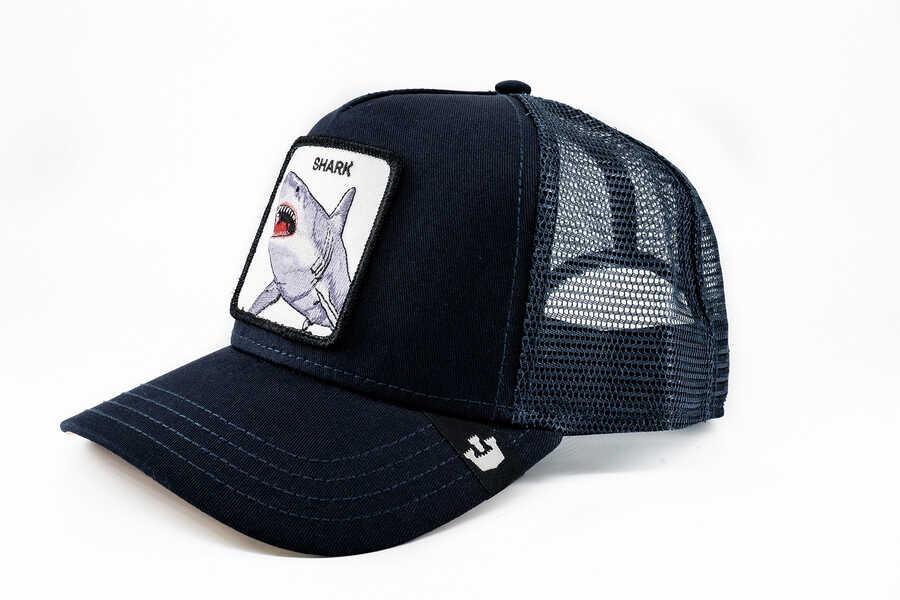 Goorin Bros - Goorin Bros Dunnah (Köpek Balığı) Lacivert Şapka (1)