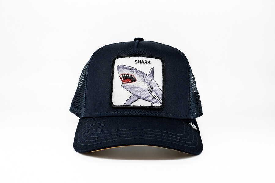 Goorin Bros - Goorin Bros Dunnah (Köpek Balığı) Lacivert Şapka