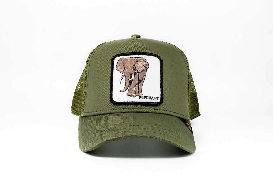 Goorin Bros Elephant (Fil Figürlü) Lacivert Şapka