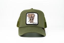 Goorin Bros - Goorin Bros Elephant (Fil Figürlü) Lacivert Şapka (Thumbnail - )