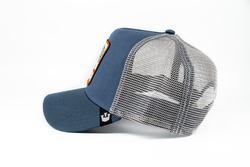 Goorin Bros Big Bass (Balık Figürlü) Mavi Şapka - Thumbnail