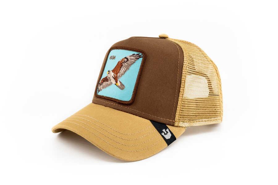 Goorin Bros - Goorin Bros High (Kartal Figürlü) Kahverengi Şapka (1)
