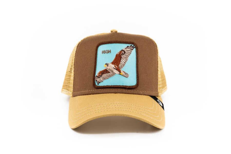 Goorin Bros - Goorin Bros High (Kartal Figürlü) Kahverengi Şapka