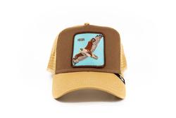 Goorin Bros - Goorin Bros High (Kartal Figürlü) Kahverengi Şapka (Thumbnail - )