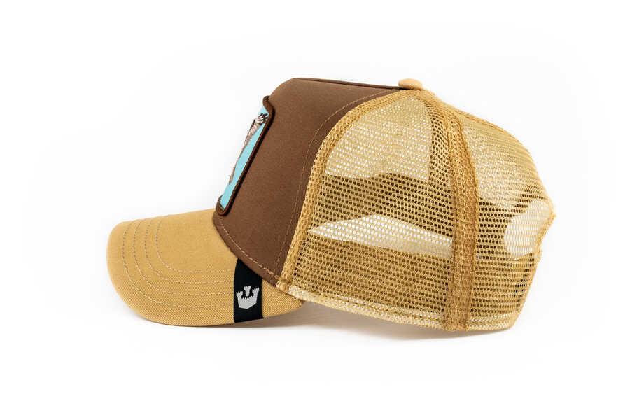 Goorin Bros High (Kartal Figürlü) Kahverengi Şapka