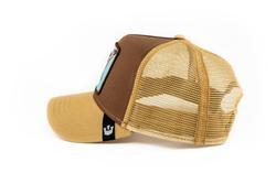Goorin Bros High (Kartal Figürlü) Kahverengi Şapka - Thumbnail
