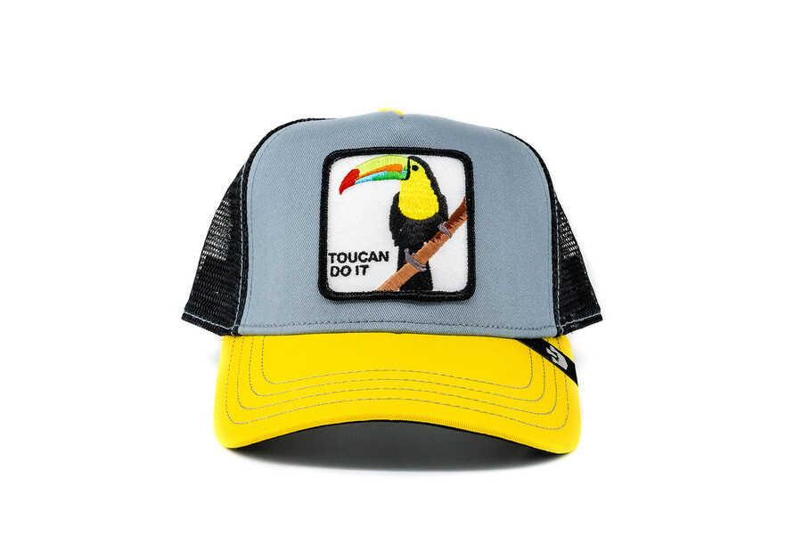 Goorin Bros - Goorin Bros Iggy Narnar (Papağan Figürlü) Şapka