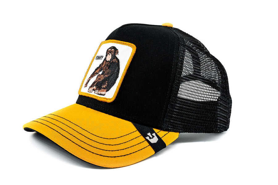 Goorin Bros - Goorin Bros Banane Shake (Maymun) Siyah Şapka (1)