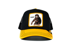 Goorin Bros - Goorin Bros Banane Shake (Maymun) Siyah Şapka (Thumbnail - )