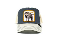 Goorin Bros - Goorin Bros Butthead (Babun Figürlü) Gri Şapka (Thumbnail - )