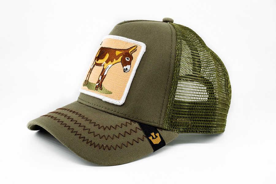 Goorin Bros Donkey Ass (Eşek Figürlü) Haki Şapka