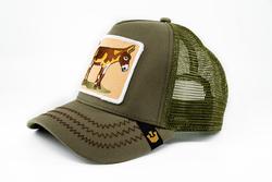 Goorin Bros Donkey Ass (Eşek Figürlü) Haki Şapka - Thumbnail