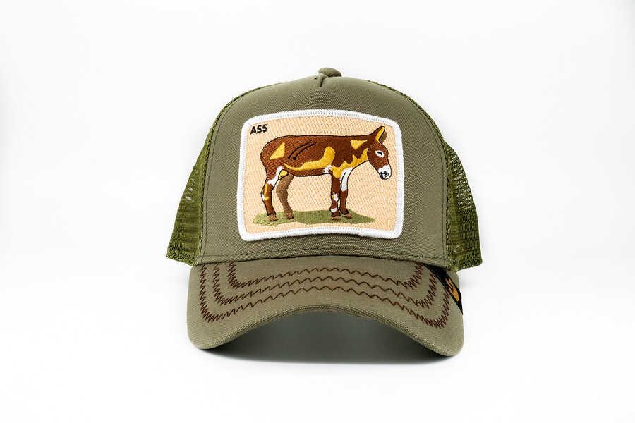 Goorin Bros - Goorin Bros Donkey Ass (Eşek Figürlü) Haki Şapka