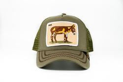 Goorin Bros - Goorin Bros Donkey Ass (Eşek Figürlü) Haki Şapka (Thumbnail - )