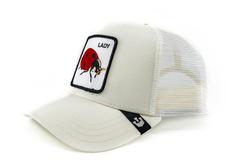 Goorin Bros Spot (Uğur Böceği Figür) Beyaz Şapka - Thumbnail