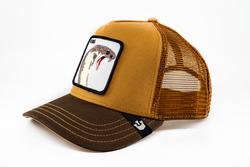 Goorin Bros Biter (Kobra Figür) Kahverengi Şapka - Thumbnail