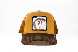 Goorin Bros - Goorin Bros Biter (Kobra Figür) Kahverengi Şapka (Thumbnail - )