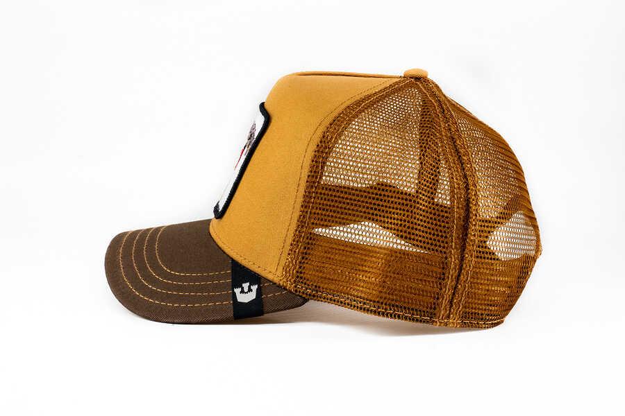 Goorin Bros Biter (Kobra Figür) Kahverengi Şapka