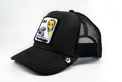 Goorin Bros Bite Me (Kobra Figürlü) Siyah Şapka - Thumbnail