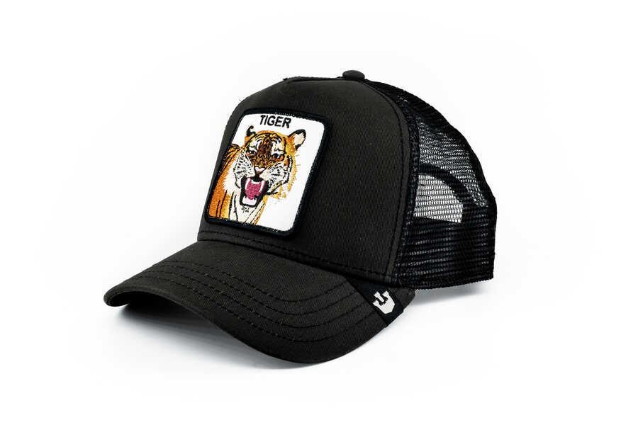 Goorin Bros - Goorin Bros Leader (Kaplan Figürlü) Siyah Şapka (1)