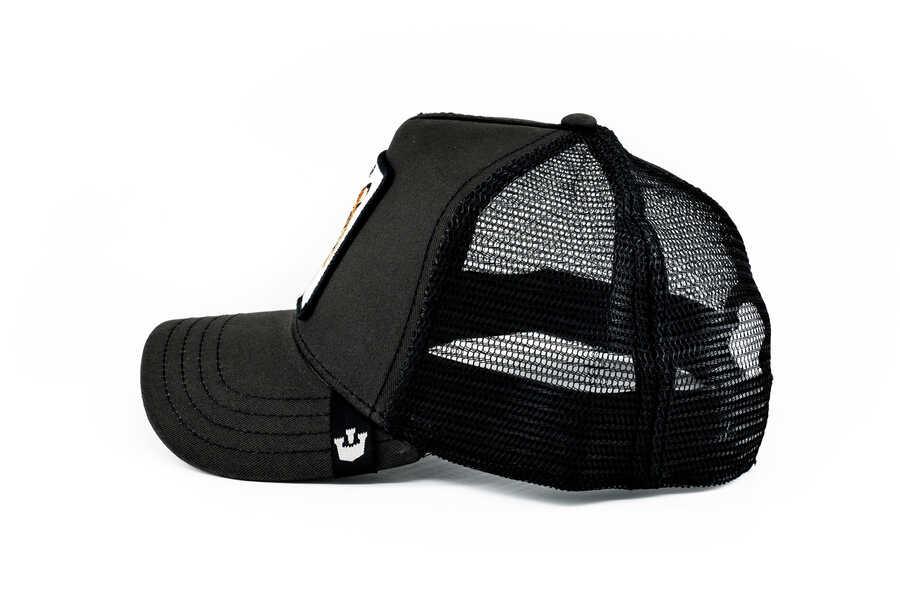 Goorin Bros Leader (Kaplan Figürlü) Siyah Şapka