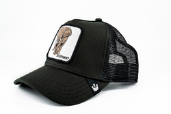 Goorin Bros Big Heart (Fil Figürlü) Siyah Şapka - Thumbnail