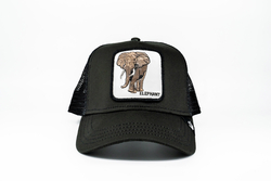 Goorin Bros - Goorin Bros Big Heart (Fil Figürlü) Siyah Şapka (Thumbnail - )