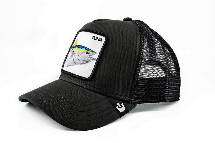 Goorin Bros - Goorin Bros Big Fishy (Balık Figürlü) Siyah Şapka (1)
