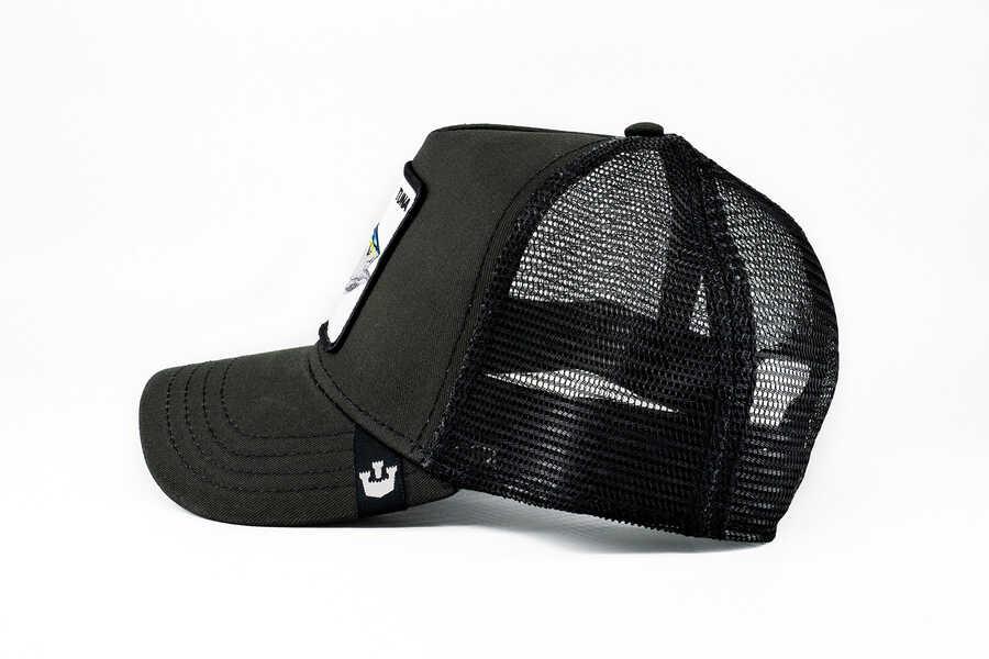 Goorin Bros Big Fishy (Balık Figürlü) Siyah Şapka