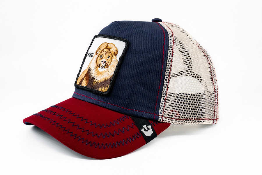 Goorin Bros - Goorin Bros Big Rock Bordo Lacivert Şapka 101-0564 (1)
