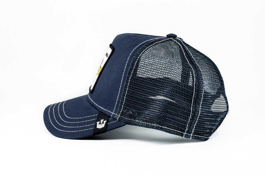 Goorin Bros Fierce (Arı Figürlü) Lacivert Şapka
