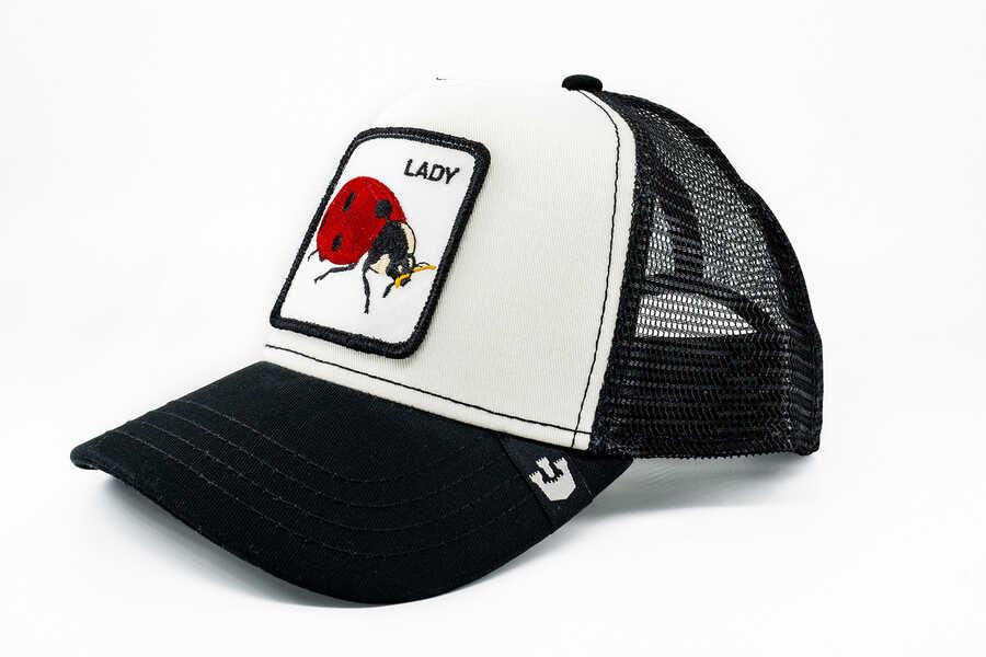 Goorin Bros - Goorin Bros Lady Bug (Uğur Böceği Figürlü) Şapka (1)
